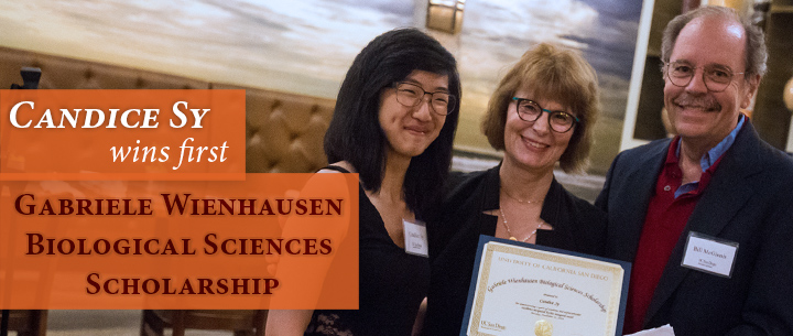 Candice Sy Wins First Gabriele Wienhausen Biological Sciences Scholarship