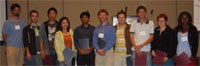 Group photo of Biosciences student award winners