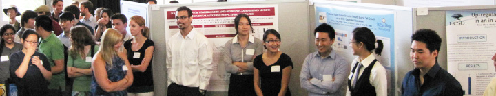 Undergraduates at the 2011 Divisional Research Showcase
