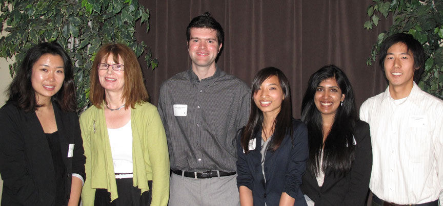 Winners of the 2012 Student Research Showcase