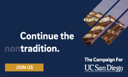UC San Diego Fundraising Campaign: Continue the Non-tradition