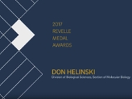 Don Helinski honored with Revelle Medal